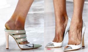 Модные показы травмируют ноги моделей (фото)