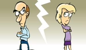 От развода женщины лысеют