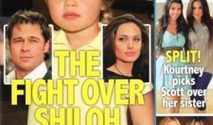 Брэд Питт и Анджелина Джоли ругаются из-за дочки