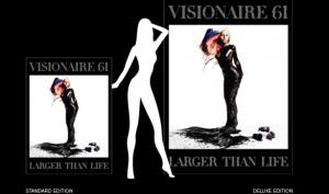 Леди Гага в образе русалки для обложки Visionaire 61