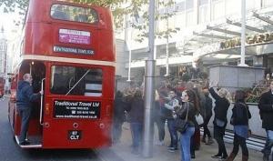 Джастин Бибер прокатился в лондонском автобусе