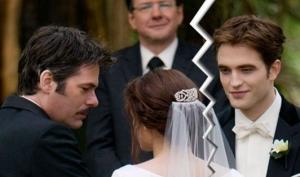 Роберт Паттинсон: Эдвард и Белла разведутся