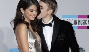 Джастин Бибер и Селена Гомес на American Music Awards 2011
