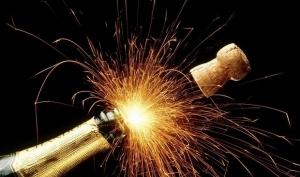 Новогодняя диета на шампанском