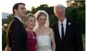 Челси Клинтон показывает свою любовь