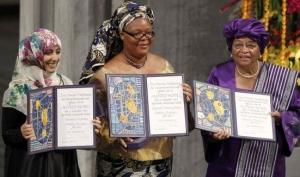 Трём женщинам вручили Нобелевскую премию мира