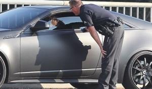 Джастина Бибера снова остановила полиция