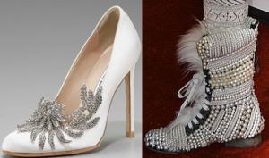 Обувь с драгоценными камнями – хит сезона