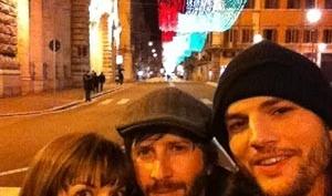 Эштон Катчер отправился отдыхать в Италию с подругой