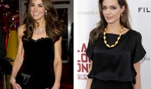 Кейт Миддлтон подражает Анджелине Джоли