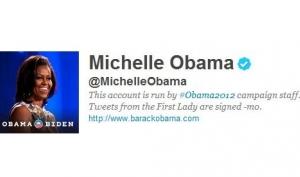 Мишель Обама завела микроблог в Твиттере