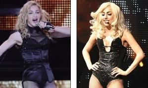 Мадонна не довольна Леди Гагой