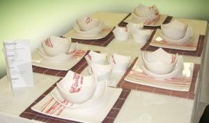 Посуда – главное украшение праздничного стола