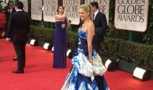 Ребёнок выбрал платье Сары Мишель Геллар для Золотого Глобуса