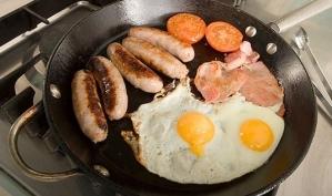 Жареная домашняя еда не вредит сердцу