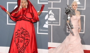 Худшие наряды Грэмми 2012