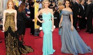 Лучшие платья Оскара 2012