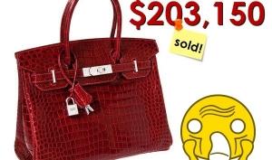 Самые дорогие сумочки от Hermès Birkin