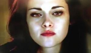 Первые кадры Сумерек с Беллой-вампиром