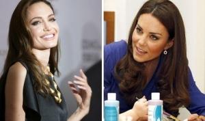 Анджелина Джоли снимет фильм про Кейт Миддлтон