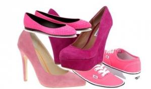 Розовые туфли - хит весны 2012
