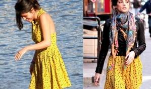 Селена Гомес против Эшли Грин: маленькое жёлтое платье