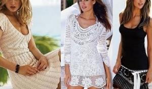 Ажурное платье 2012: классика жанра в мире моды