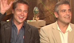 Джордж Клуни использует детей Джоли-Питт в качестве приманки