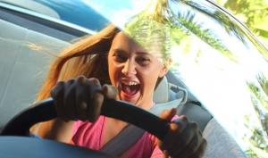 Самые опасные водители – молоденькие девушки