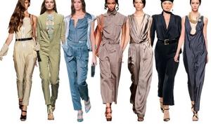 Комбинезоны – fashion trend 2012