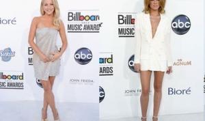 Худшие наряды Billboard Music Awards 2012