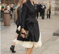 Знаменитости одевали черное, вспоминая Александра Маккуина