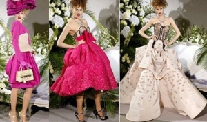 Ретро-стиль от Christian Dior