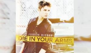 Вышла новая песня Джастина Бибера Die in Your Arms