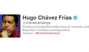 Уго Чавес раздаёт подарки юбилейным фолловерам