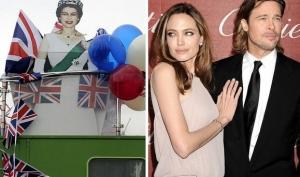 Анджелина Джоли и Брэд Питт присоединятся к празднованию юбилея царствования Королевы