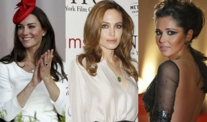 Девушки хотят поцеловать Анджелину Джоли и Кейт Миддлтон