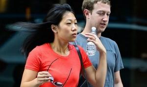 Марк Цукерберг и Присцилла Чан пришли на свадьбу друзей