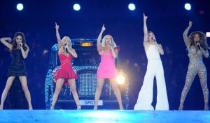Spice Girls выступили на закрытии Олимпиады 2012