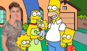 Джастин Бибер получил роль в Симпсонах