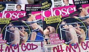 Журнал Closer обещает больше фотографий обнажённой Кейт Миддлтон