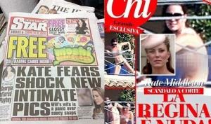 Скандал с фотографиями обнажённой Кейт Миддлтон набирает обороты