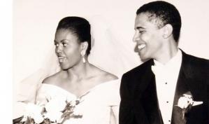 Мишель Обама поздравила мужа с годовщиной свадьбы при помощи Твиттера