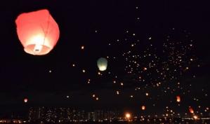 Запуск небесных фонариков 29 сентября в Москве