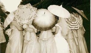 Как выбрать свадебный зонт