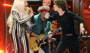 Леди Гага выступила вместе с Rolling Stones