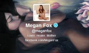 Меган Фокс зарегистрировалась в Твиттере