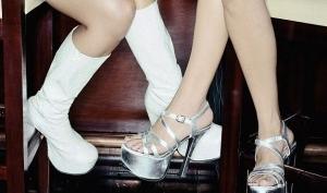 Обувь на платформе полнит ноги