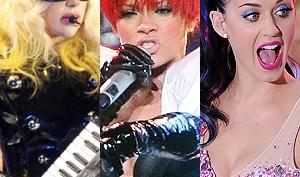 Кэти Пэрри и Рианна против Леди Гага. Премия EMA