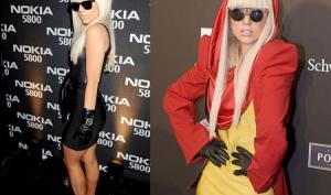 Леди Гага - лучший костюм на Хэллоуин